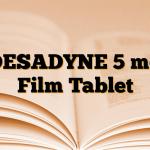 DESADYNE 5 mg Film Tablet