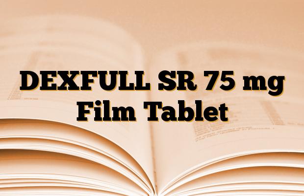 DEXFULL SR 75 mg Film Tablet