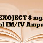 DEXOJECT 8 mg/2 ml IM/IV Ampul