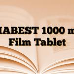 DIABEST 1000 mg Film Tablet