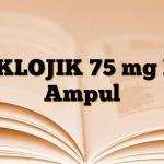 DIKLOJIK 75 mg IM Ampul
