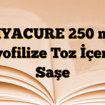 DIYACURE 250 mg Liyofilize Toz İçeren Saşe