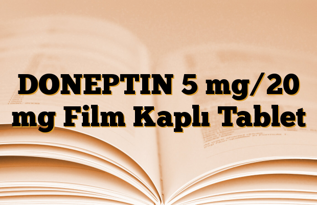 DONEPTIN 5 mg/20 mg Film Kaplı Tablet