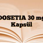 DOSETIA 30 mg Kapsül