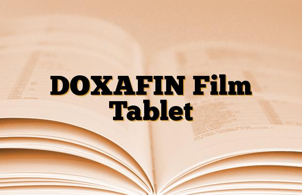 DOXAFIN Film Tablet