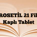 DROSETİL 21 Film Kaplı Tablet