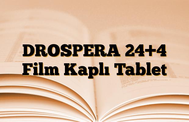 DROSPERA 24+4 Film Kaplı Tablet