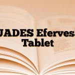 DUADES Efervesan Tablet