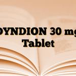DYNDION 30 mg Tablet