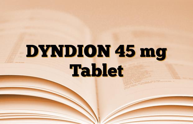 DYNDION 45 mg Tablet