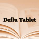 Deflu Tablet