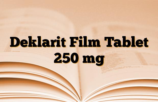 Deklarit Film Tablet 250 mg