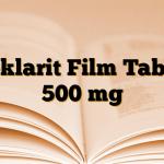 Deklarit Film Tablet 500 mg