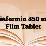 Diaformin 850 mg Film Tablet