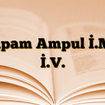 Diapam Ampul İ.M. / İ.V.