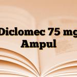 Diclomec 75 mg Ampul
