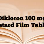 Dikloron 100 mg Retard Film Tablet