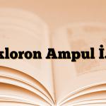Dikloron Ampul İ.M.