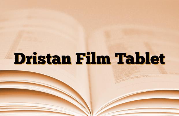 Dristan Film Tablet