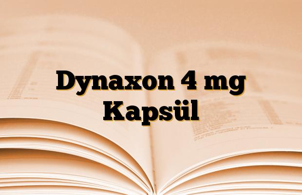 Dynaxon 4 mg Kapsül