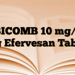 EBICOMB 10 mg/10 mg Efervesan Tablet
