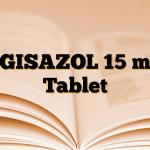 EGISAZOL 15 mg Tablet