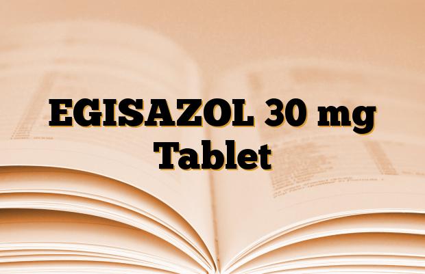 EGISAZOL 30 mg Tablet