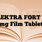 ELEKTRA FORT 50 mg Film Tablet