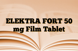 ELEKTRA FORT 50 mg Film Tablet