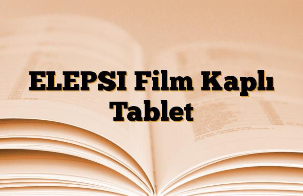 ELEPSI Film Kaplı Tablet