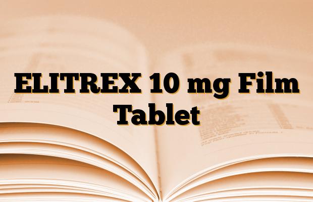 ELITREX 10 mg Film Tablet