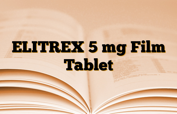 ELITREX 5 mg Film Tablet