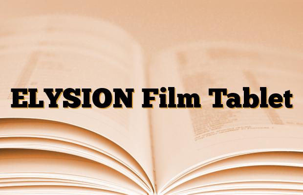 ELYSION Film Tablet