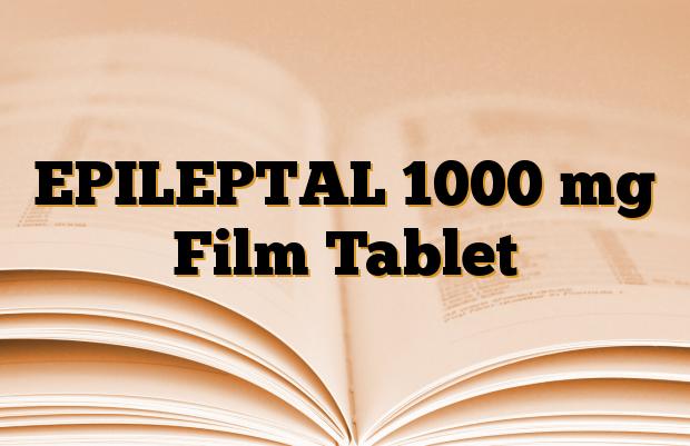 EPILEPTAL 1000 mg Film Tablet