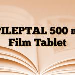 EPILEPTAL 500 mg Film Tablet