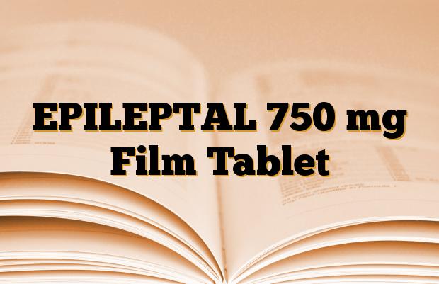 EPILEPTAL 750 mg Film Tablet