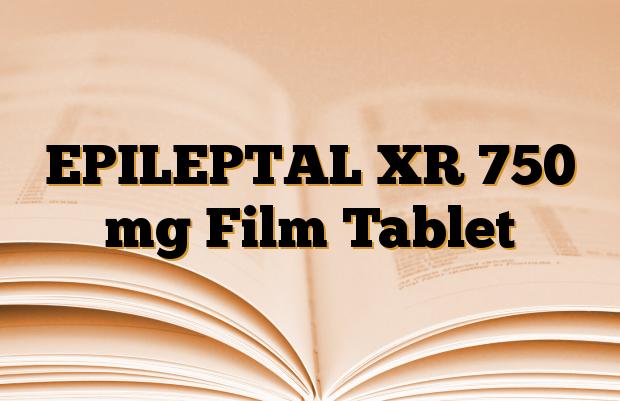 EPILEPTAL XR 750 mg Film Tablet