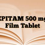 EPITAM 500 mg Film Tablet