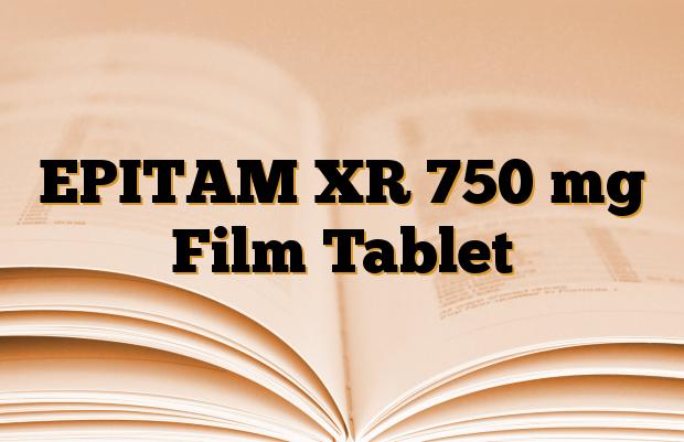 EPITAM XR 750 mg Film Tablet