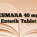 ESMARA 40 mg Enterik Tablet