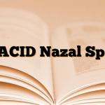 ETACID Nazal Sprey