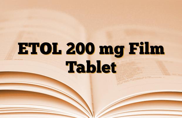 ETOL 200 mg Film Tablet