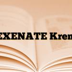EXENATE Krem