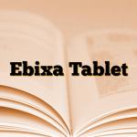 Ebixa Tablet
