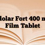 Edolar Fort 400 mg Film Tablet
