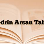 Efedrin Arsan Tablet