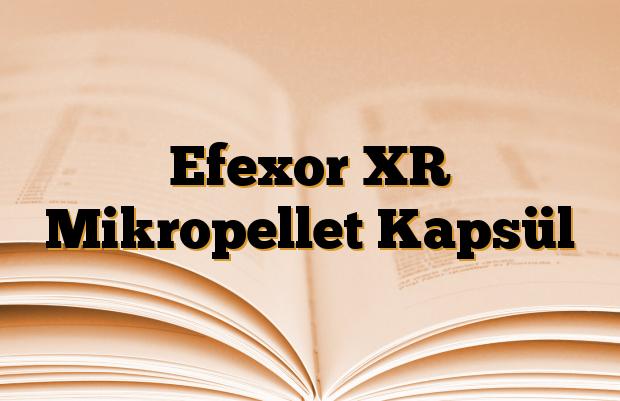 Efexor XR Mikropellet Kapsül