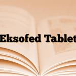 Eksofed Tablet
