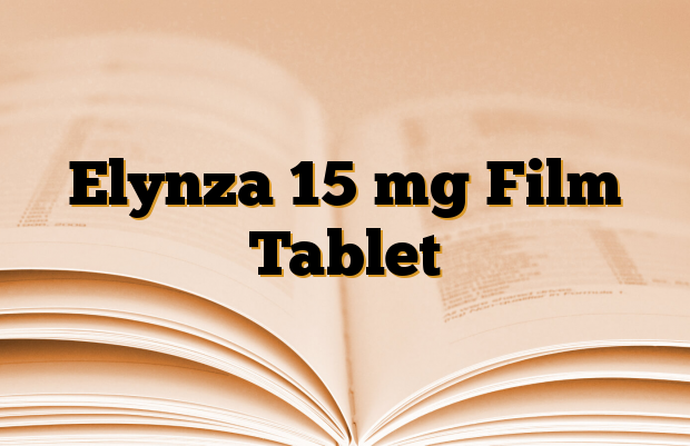 Elynza 15 mg Film Tablet