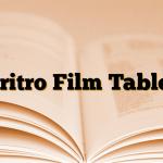 Eritro Film Tablet